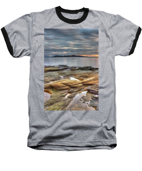 Madrona Sunrise Baseball T-Shirt