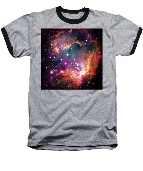 Magellanic Cloud 2 Baseball T-Shirt