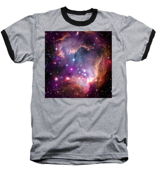 Magellanic Cloud 3 Baseball T-Shirt