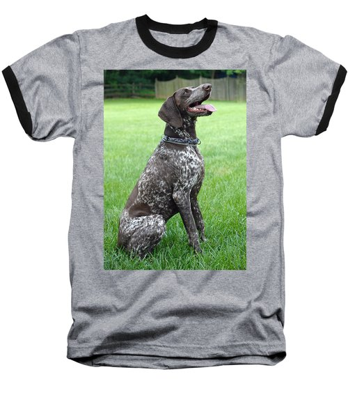 Baseball T-Shirt featuring the photograph Maggie by Lisa Phillips
