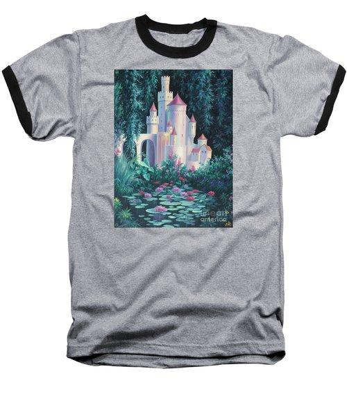 Magic Castle Baseball T-Shirt by Vivien Rhyan