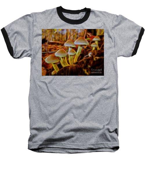 Magic Mushroom-3 Baseball T-Shirt