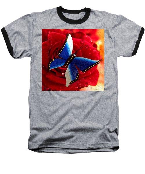 Magic On The Wall Baseball T-Shirt by Carlos Avila