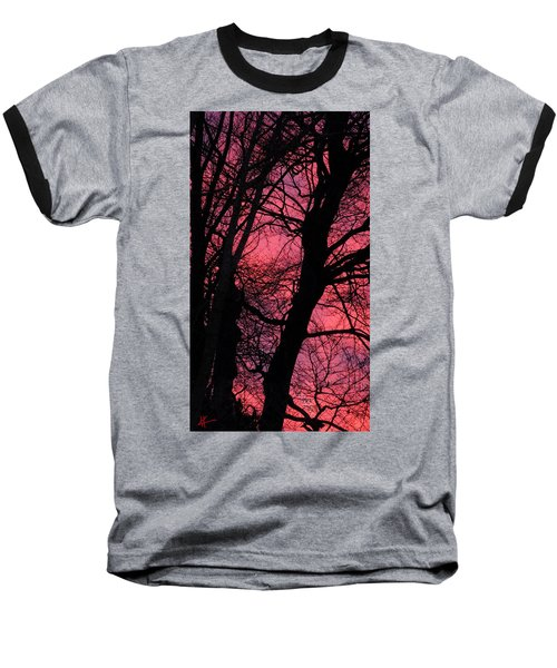 Magic Sunset  Baseball T-Shirt