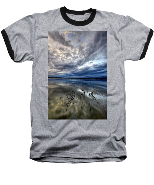 Magical Lake - Vertical Baseball T-Shirt