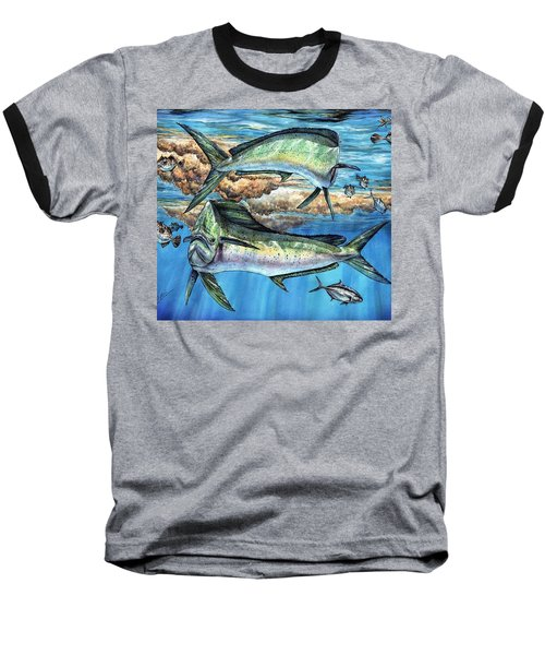 Magical Mahi Mahi Sargassum Baseball T-Shirt