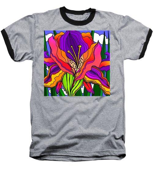 Magical Mystery Garden Baseball T-Shirt