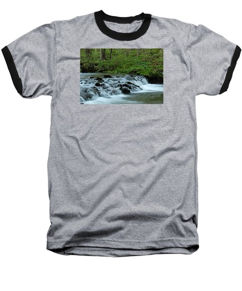Baseball T-Shirt featuring the photograph Magical River by Julie Andel