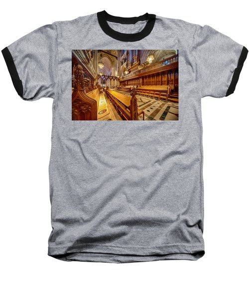 Magnificent Cathedral I Baseball T-Shirt