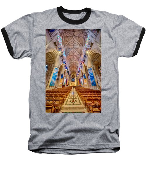 Magnificent Cathedral II Baseball T-Shirt