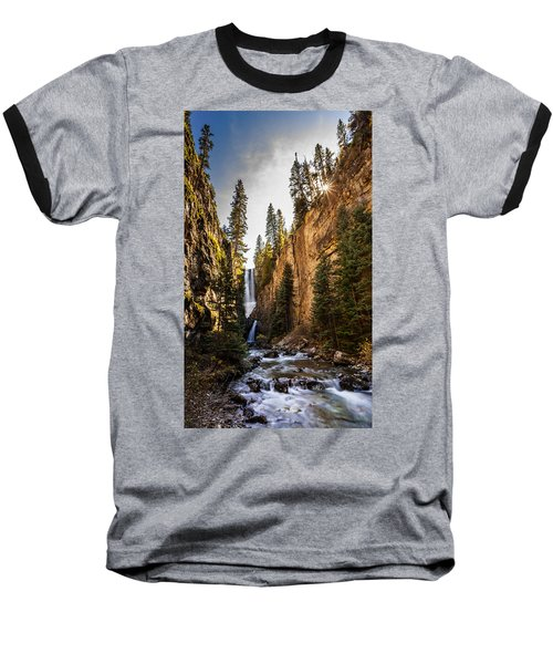Magnificent  Mystic Falls  Baseball T-Shirt by Steven Reed