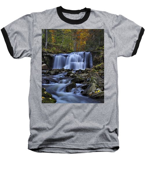Magnificent Waterfall Baseball T-Shirt