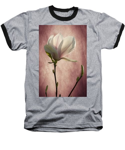 Baseball T-Shirt featuring the photograph Magnolia by Ann Lauwers