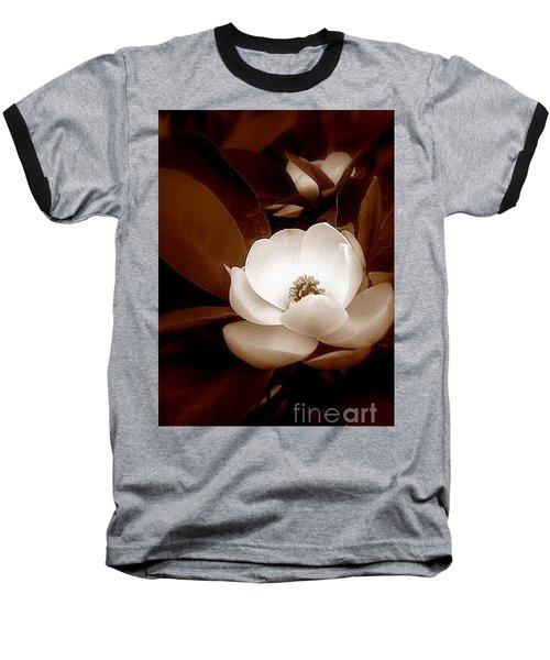 New Orleans Magnolia Beauty Baseball T-Shirt