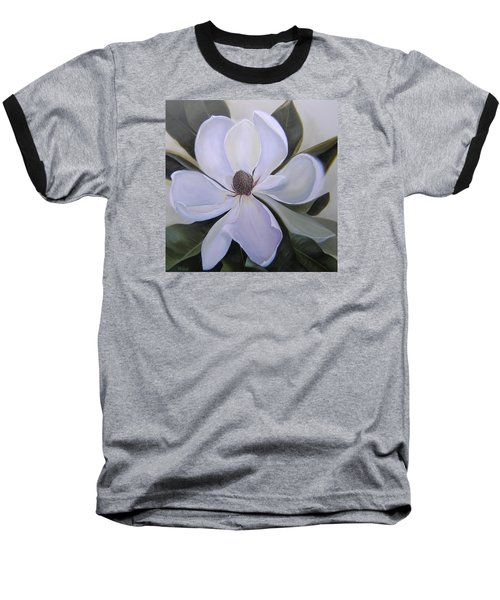 Magnolia Square Baseball T-Shirt