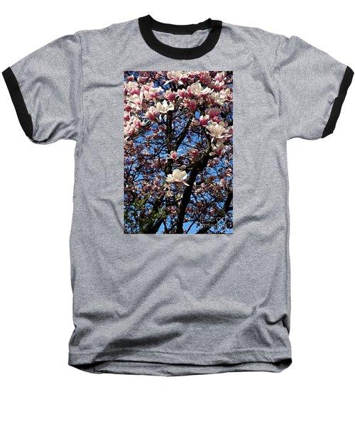Magnolias Baseball T-Shirt