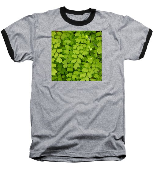 Maidenhair Fern Baseball T-Shirt