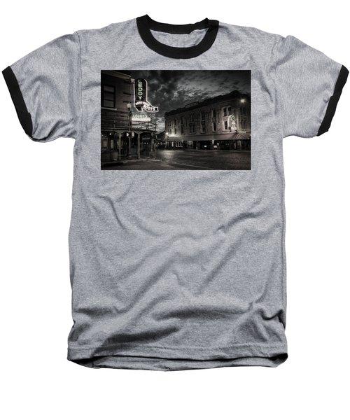 Main And Exchange Bw Baseball T-Shirt