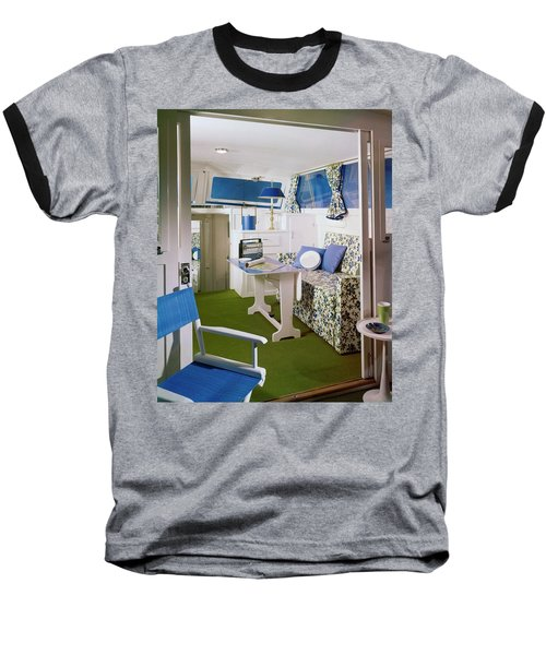 Main Cabin Of A Boat Baseball T-Shirt
