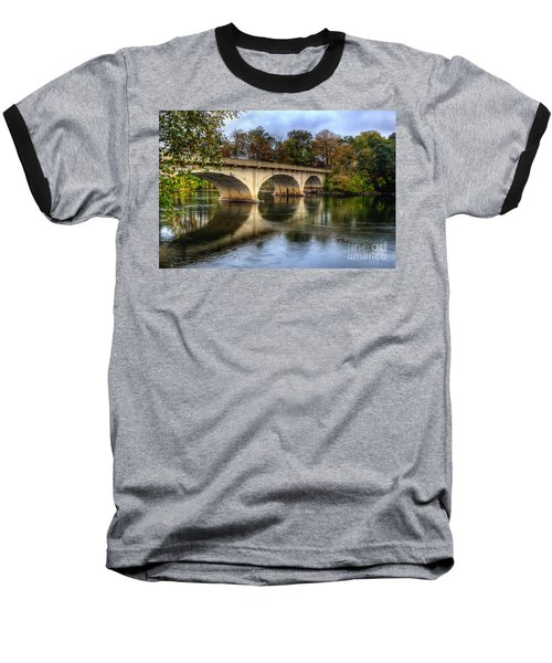 Main St Bridge Baseball T-Shirt