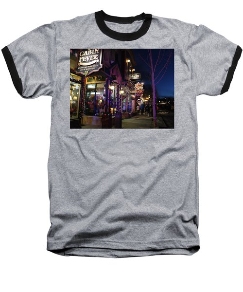Main Street Breckenridge Colorado Baseball T-Shirt