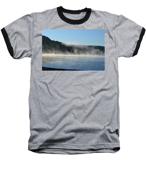 Baseball T-Shirt featuring the photograph Maine Morning by James Petersen