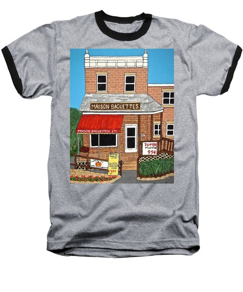 Maison Baguettes Baseball T-Shirt