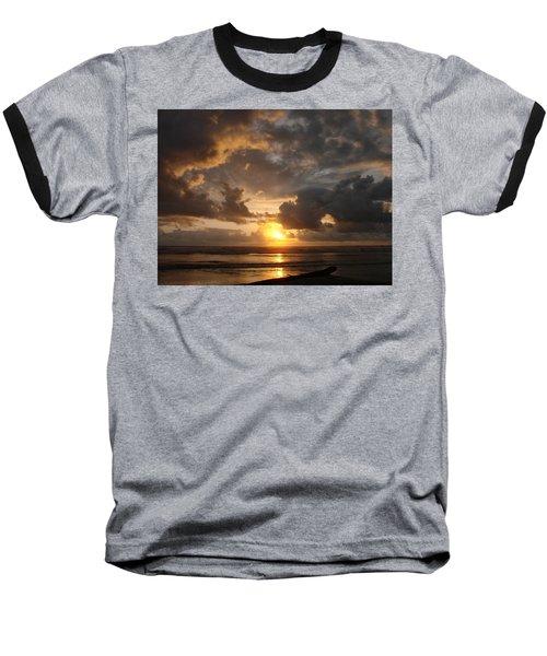 Baseball T-Shirt featuring the photograph Majestic Sunset by Athena Mckinzie
