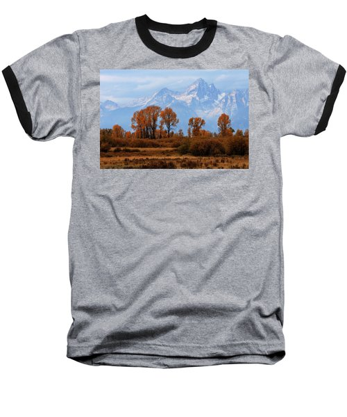 Majestic Backdrop Baseball T-Shirt