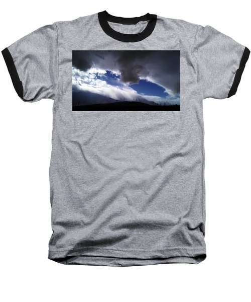 Baseball T-Shirt featuring the photograph Majestic by Chris Tarpening