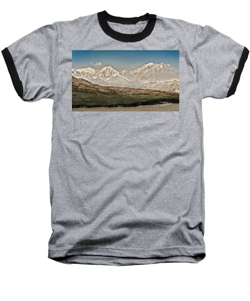 Majestic Mount Mckinley Baseball T-Shirt