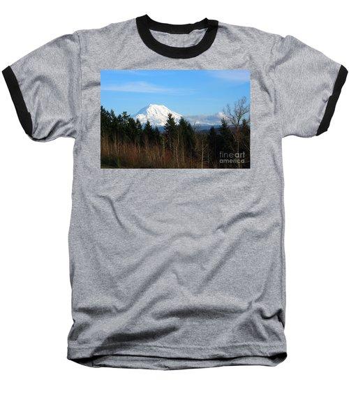 Majestic Mount Rainier Baseball T-Shirt