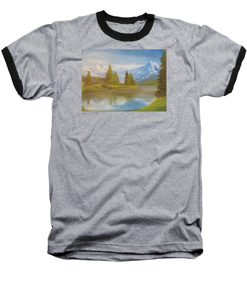 Majestic Mountains Baseball T-Shirt