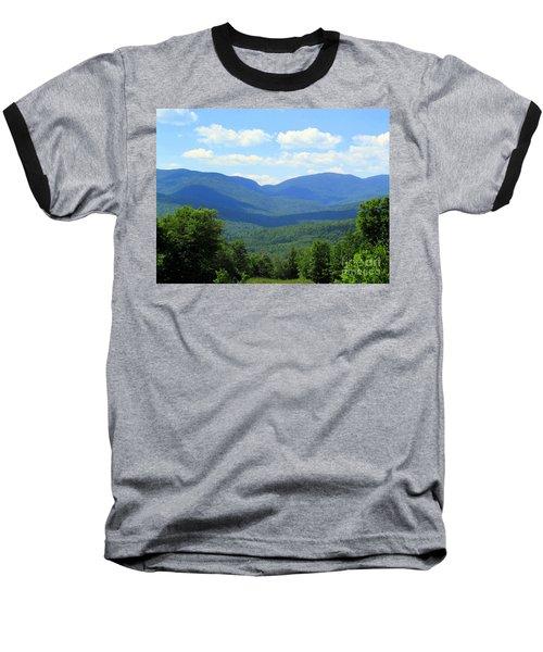 Majestic Mountains Baseball T-Shirt