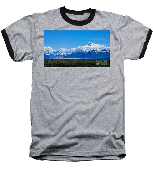 Majestic Mt Mckinley Baseball T-Shirt