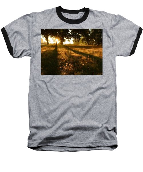 Majestic Oaks Sunrise Baseball T-Shirt