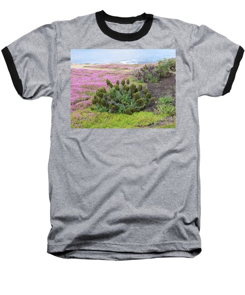 Majestic Shoreline Baseball T-Shirt