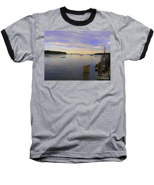 Majestic Sunrise Baseball T-Shirt