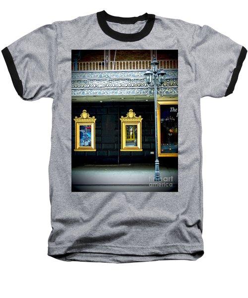 Majestic Theatre Lightpost Baseball T-Shirt