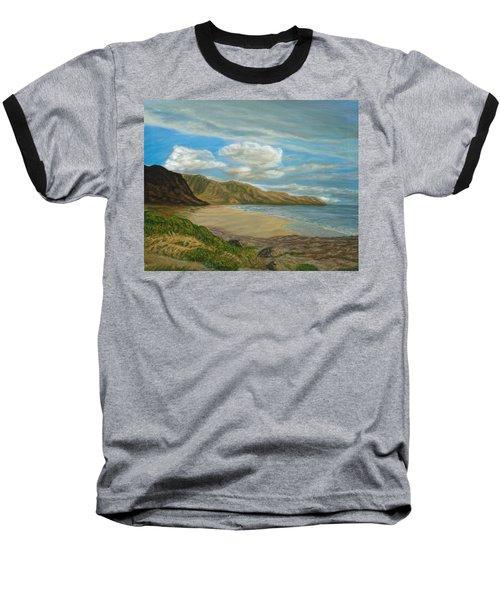 Makaha Beach Baseball T-Shirt
