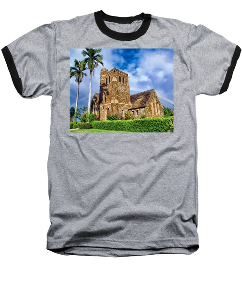 Makawao Union Church 1 Baseball T-Shirt