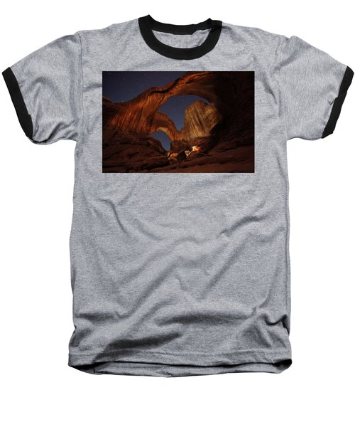 Baseball T-Shirt featuring the photograph Gimme Another Double by David Andersen
