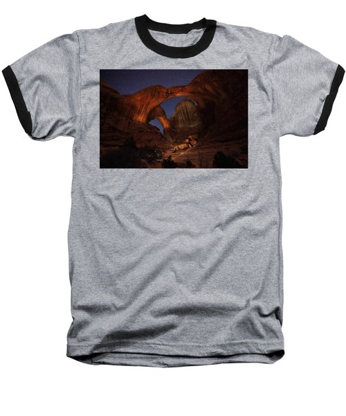 Baseball T-Shirt featuring the photograph Make It A Double by David Andersen
