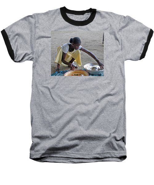 Making Lunch Dakar Senagal Baseball T-Shirt
