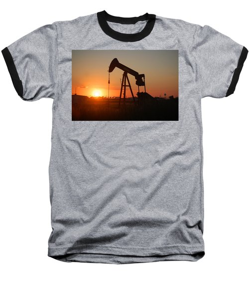 Making Tea At Sunset 2 Baseball T-Shirt