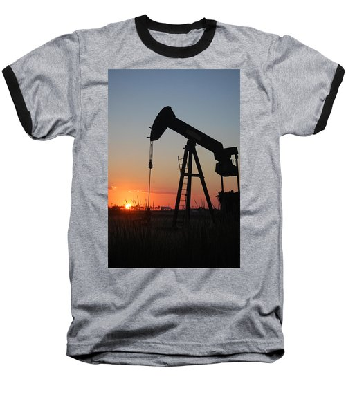Making Tea At Sunset Baseball T-Shirt