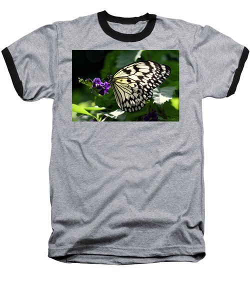 Baseball T-Shirt featuring the photograph Malabar Tree Nymph  by Suzanne Stout