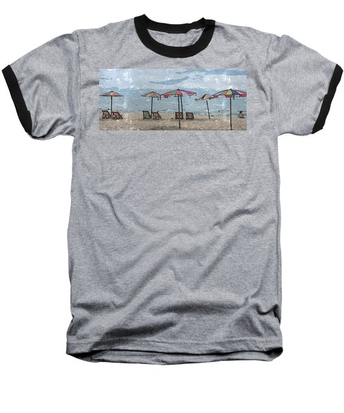 Malazy Day At The Beach Baseball T-Shirt