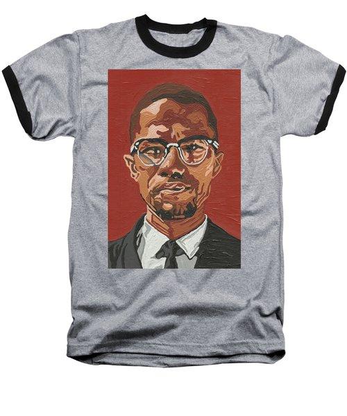 Malcolm X Baseball T-Shirt