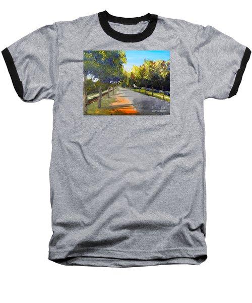Maldon Victoria Australia Baseball T-Shirt by Pamela  Meredith